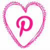 pink heart pinterest